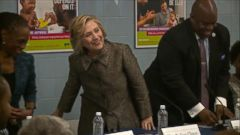 VIDEO: Hillary Clinton Hints at 2016 Run: All in Good Time Going Back to Brooklyn