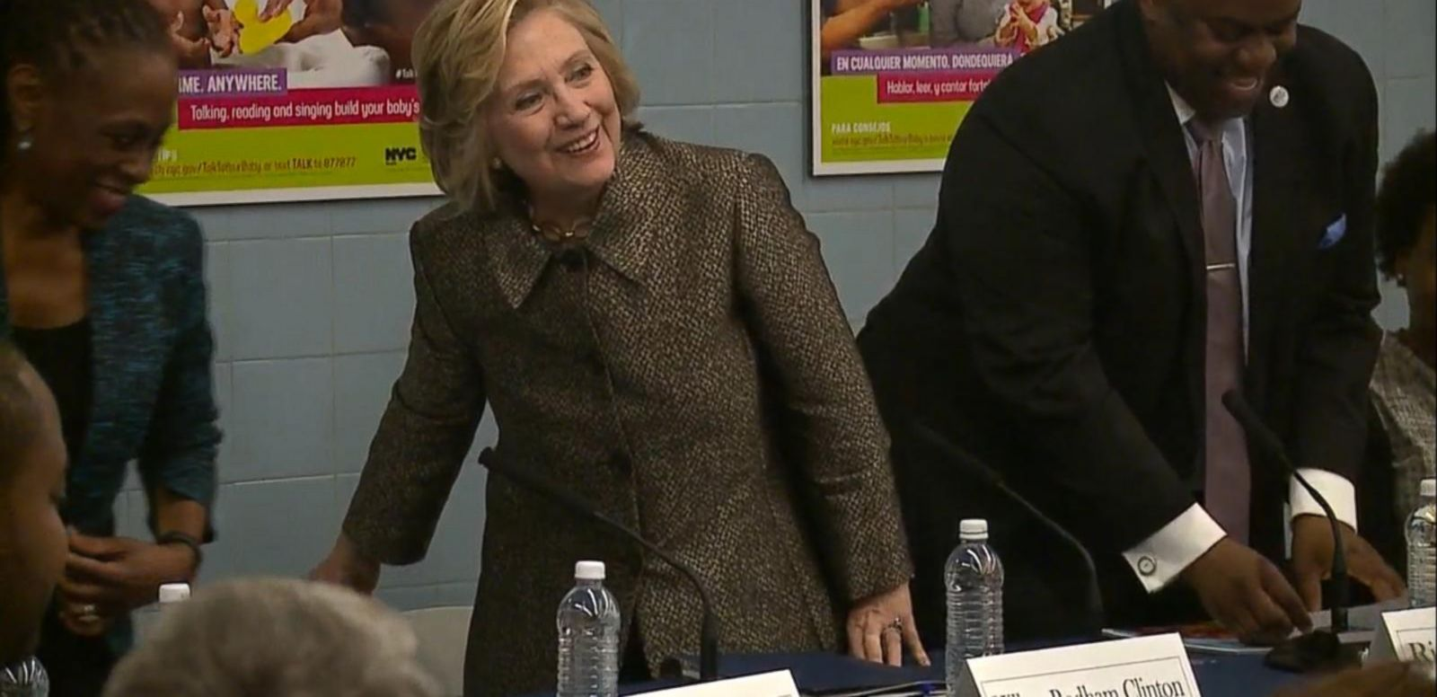 VIDEO: Hillary Clinton Hints at 2016 Run: 'All in Good Time' Going Back to Brooklyn