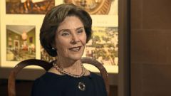 VIDEO: Laura Bush on former President George W. Bushs Latest Painting Project