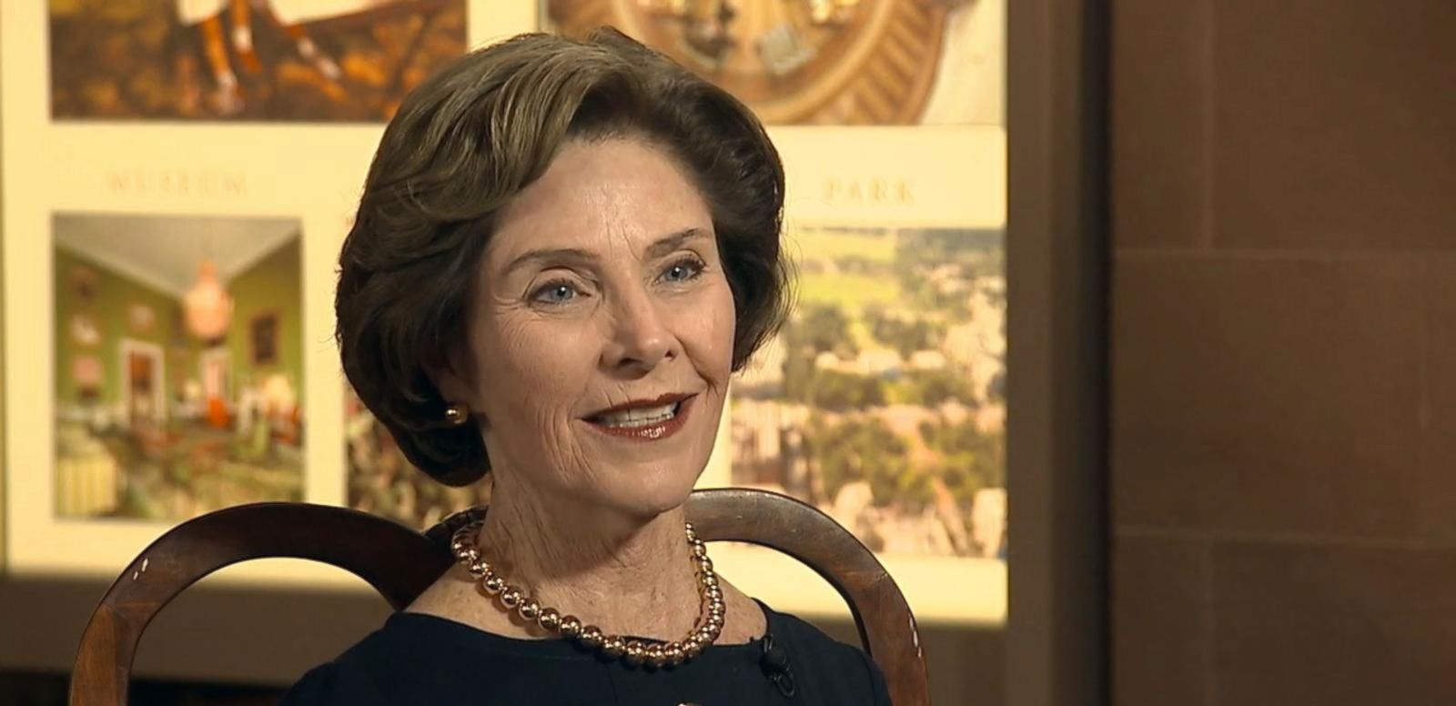 VIDEO: Laura Bush on former President George W. Bush's Latest Painting Project