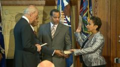 VIDEO: Loretta Lynch Being Sworn in as Attorney General