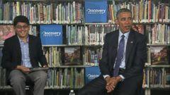 VIDEO: Watch This Kid Interrupt President Obama