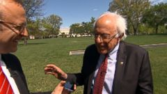 VIDEO: The Bernie Sanders Folk Dancing Video You Must See