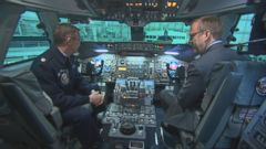 VIDEO: The U.S. Air Force has 8 official presidential pilots on staff. The plane can fly 7,800 miles fully-fueled at a top speed of 630 miles per hour.