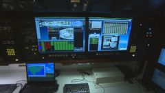 VIDEO: Highly-secure communications equipment allows the president to conduct sensitive government business from the air and direct a federal response to a national emergency.