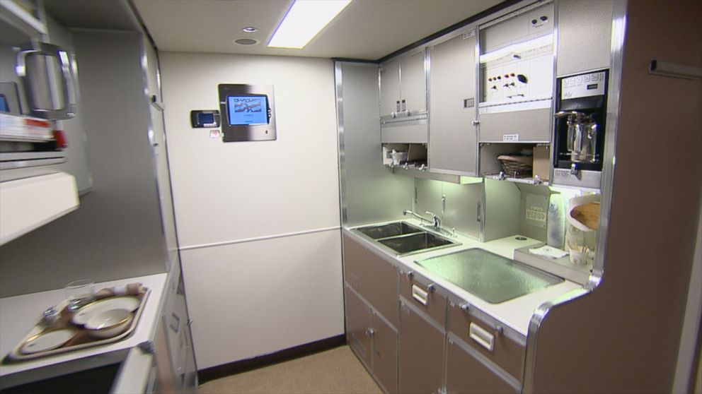 Inside Air Force One Galley Video Abc News