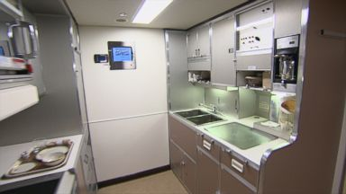 Inside Air Force One: Galley