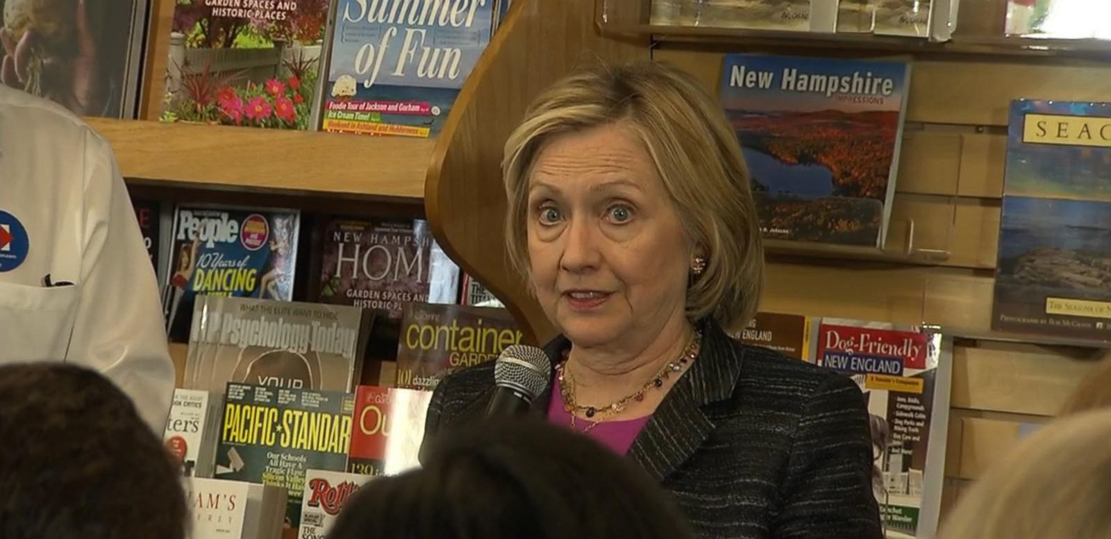 VIDEO: Hillary Clinton: 'I'm Not Running for My Husband's Third Term and I'm Not Running for Barack Obama's Third Term'