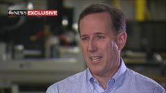 "VIDEO: Rick Santorum on Rand Pauls ISIS Stance: ""I Would Expect to Hear That From Maybe Bernie Sanders"""