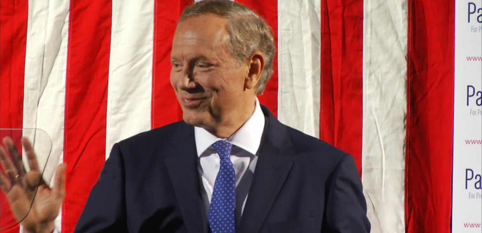 VIDEO: The former New York governor joined the growing pool of GOP candidates.