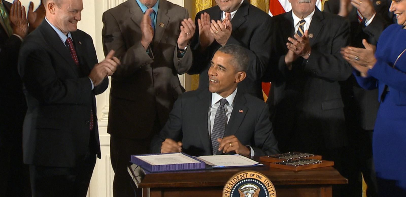 VIDEO: Obama Signs Fast-Track Trade Bill