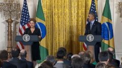 VIDEO: Obama Says He Can Only Wear His Team Brazil Jersey At Home at Night