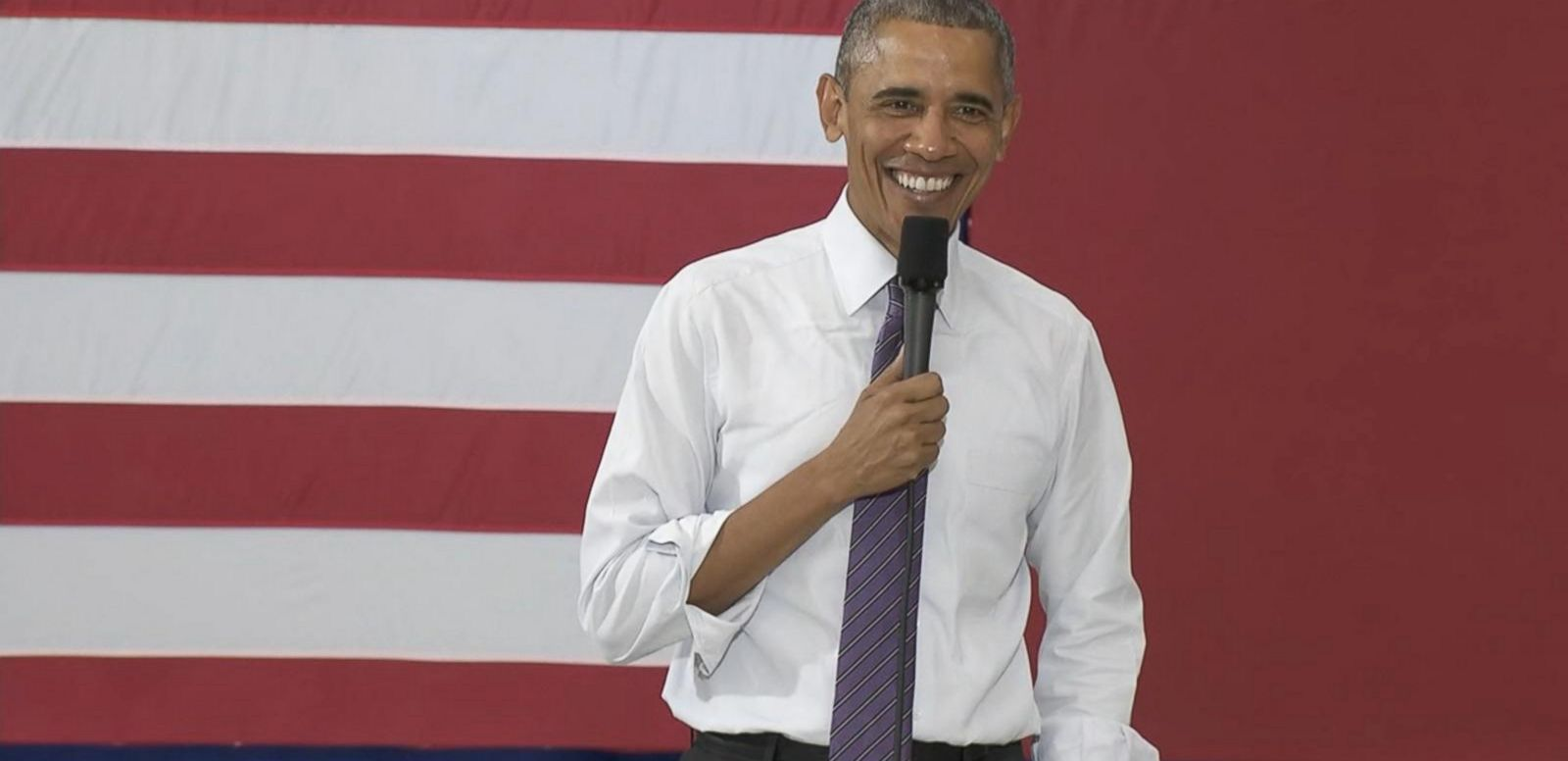 VIDEO: Obama Sings 'Davey Crockett' To Man Actually Named Davey Crockett