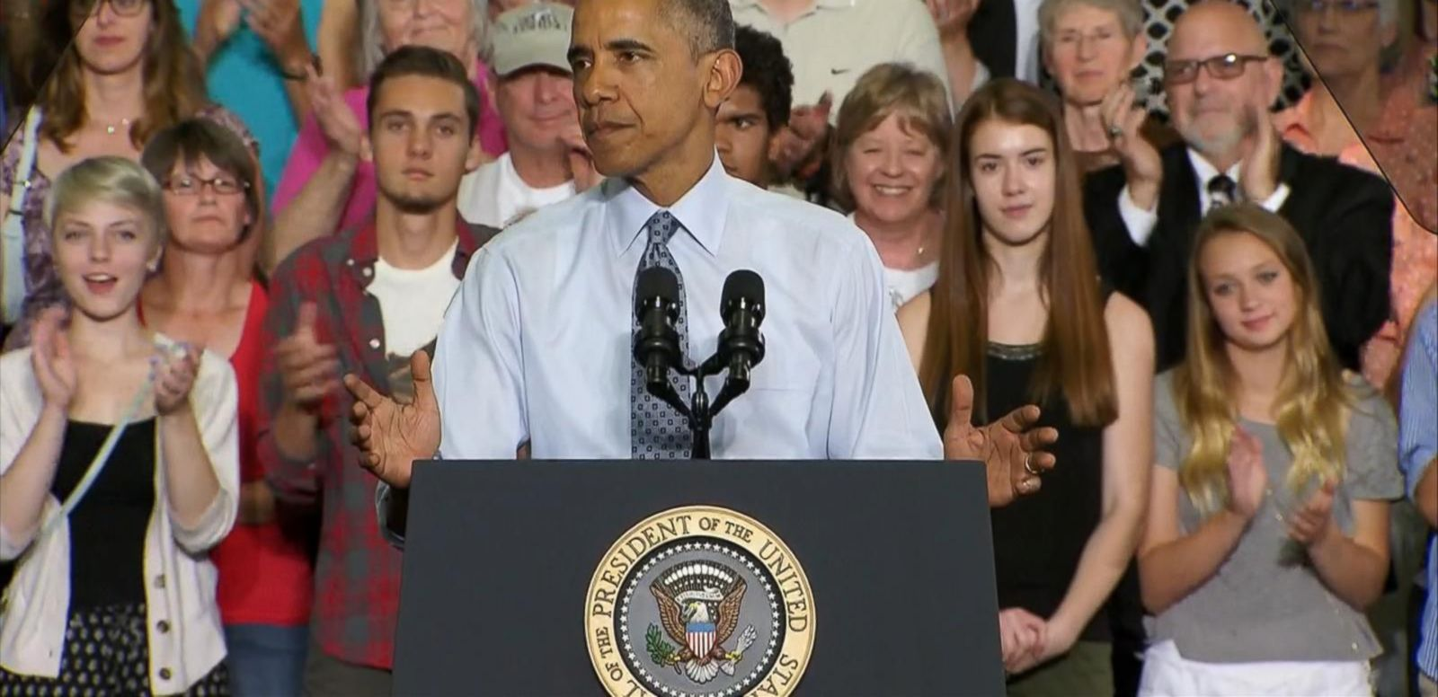 VIDEO: In a rousing and campaign-like speech, President Obama highlights the last 7 years of his presidency in a push to expand eligibility for overtime pay.