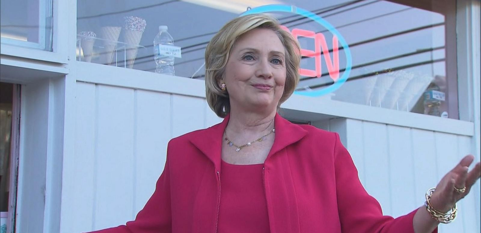 VIDEO: Hillary Clinton Not Fazed By Bernie Sanders' Crowds
