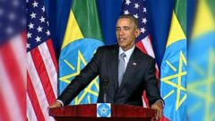 VIDEO: President Obama Wades into GOP Politics from Abroad