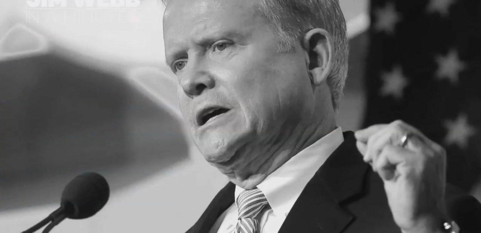VIDEO: Jim Webb in a Minute