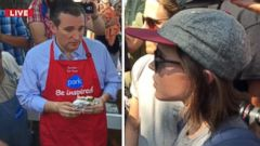 VIDEO: Ellen Page Grills Ted Cruz at Iowa State Fair