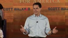 "VIDEO: The Wisconsin governor cites ""legitimate concerns"" about security along the border."