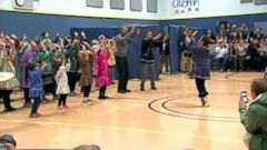 VIDEO: President Obama Dances During School Visit