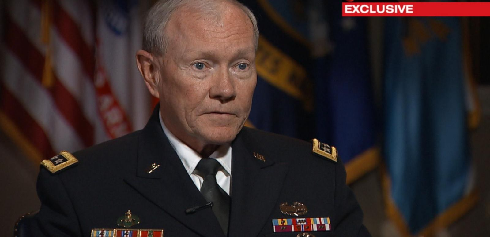 VIDEO: Joint Chiefs Chairman: Refugee Crisis 'Most Prominent Issue' Among Military Leaders
