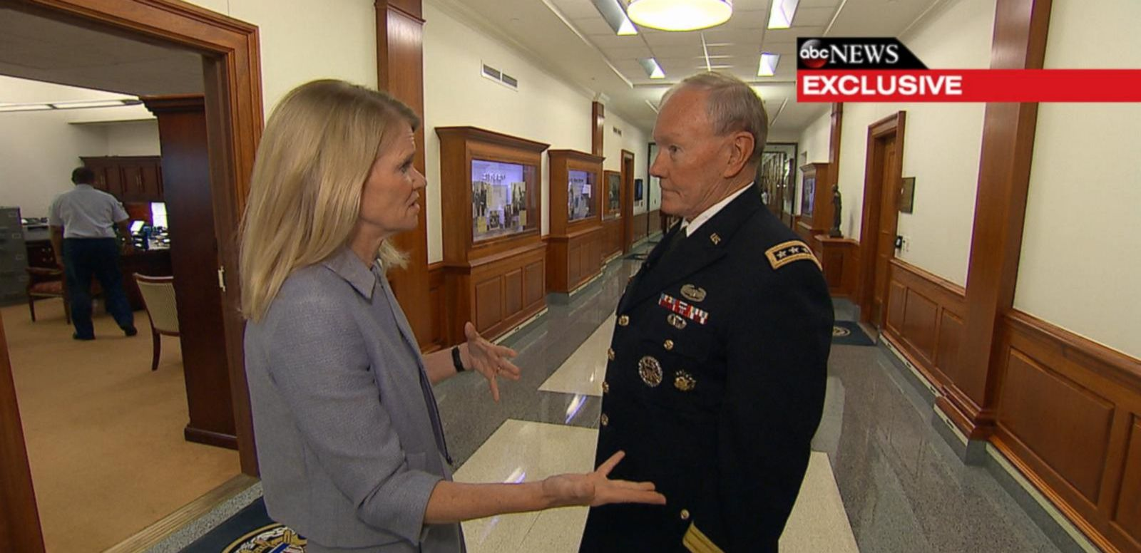 VIDEO: Joint Chiefs Chairman: Russian Involvement in ISIS Fight 'Could Complicate Things'
