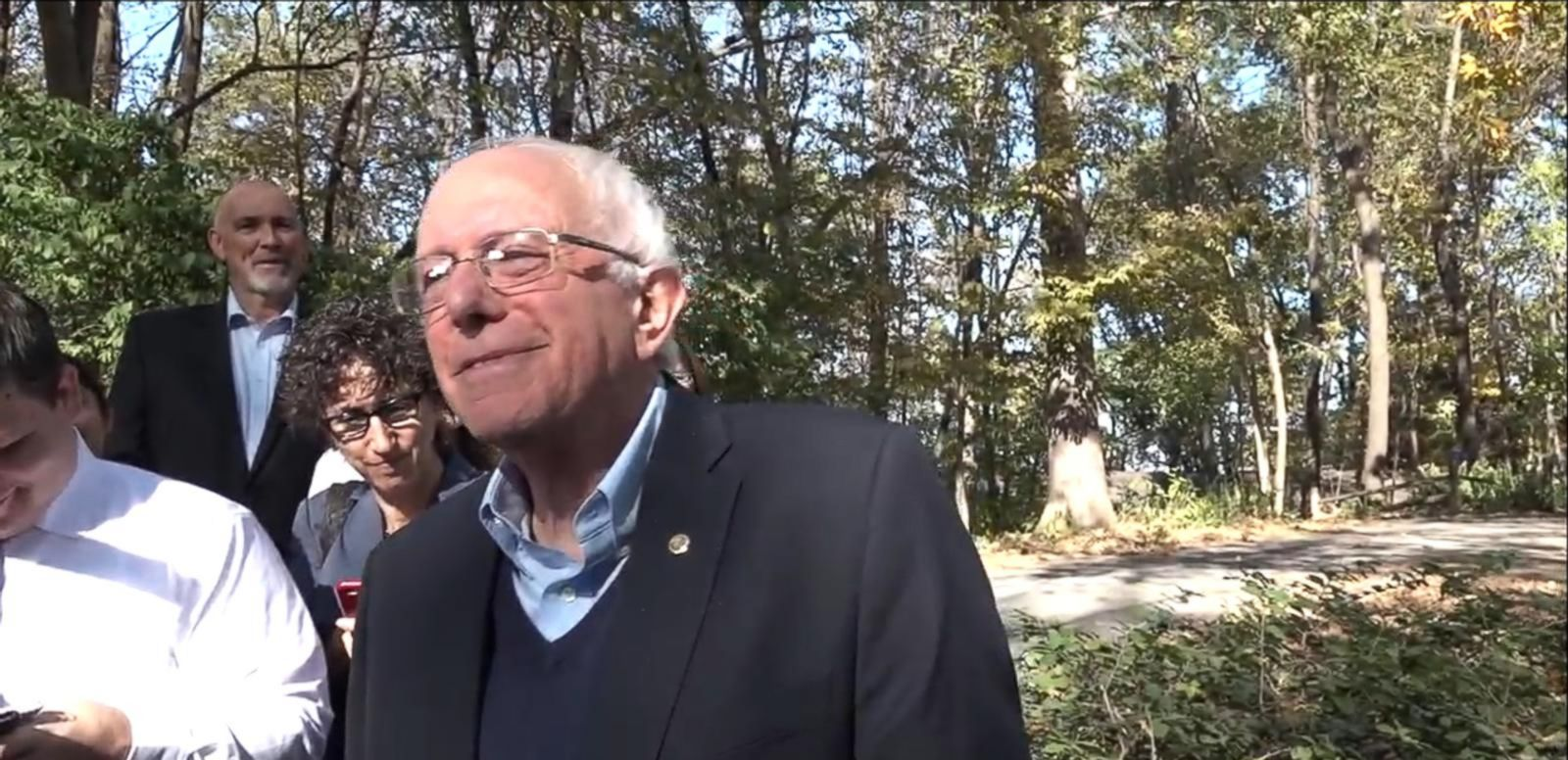 VIDEO: Sanders Confirms He Has Second Pair of Underwear