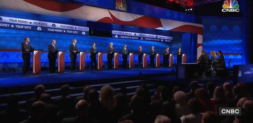 VIDEO: A look at some of the highlights of the third Republican primary debate of the 2016 presidential election held on Oct. 28, 2015 in Boulder, Colorado.