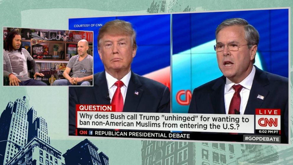 VIDEO: Strait Talk: Jeb Bush Stands Up to GOP Bully Donald Trump
