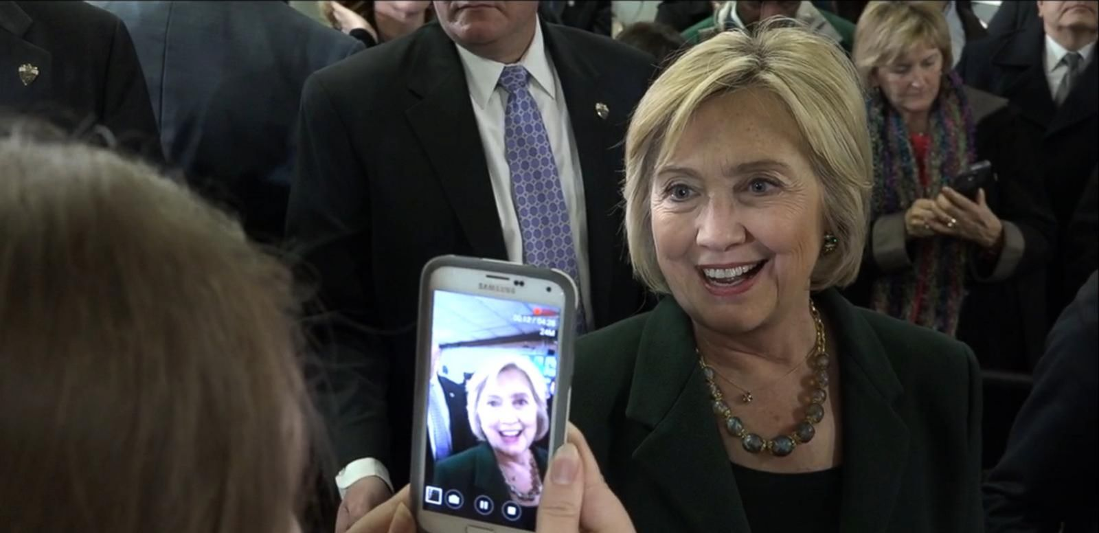 VIDEO: Hillary Clinton Delivers Message to Trump Supporter
