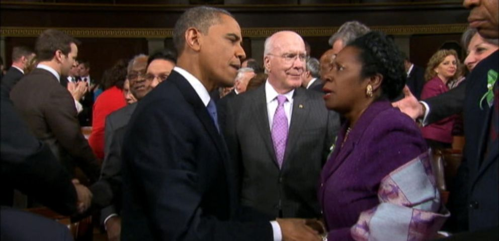 VIDEO: State of the Union Aisle Hogs: Scoring a Private Moment with the President