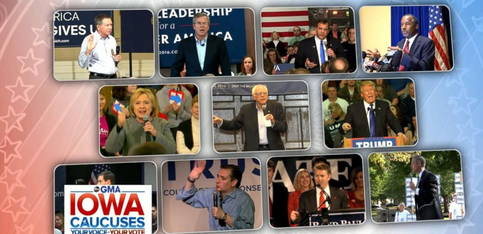 VIDEO: Iowa Caucuses 2016: Highlights From the Hawkeye State