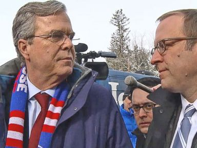 Watch:  Jeb Bush Tells Jon Karl What Hed Say to Undecided Voters in New Hampshire