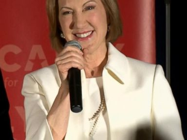 Watch:  Fiorina Will Keep Going