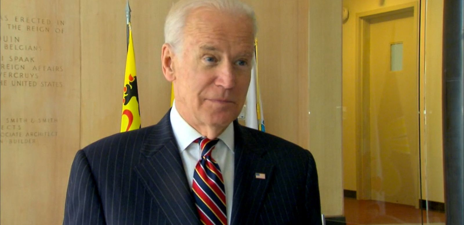 VIDEO: Vice President Joe Biden, joined by his wife Dr. Jill Biden, stopped by the Belgium Embassy in Washington, D.C. this morning to sign the condolence book for the victims of yesterdays attacks in Brussels.