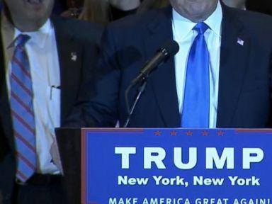 Watch:  Donald Trump Considers Himself the Presumptive Nominee