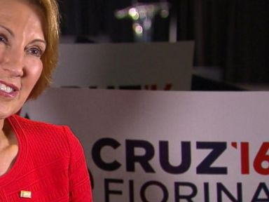 Watch:  Carly Fiorina Says Her Past Attacks on Ted Cruz Were in the Heat of a Political Campaign