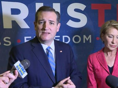 Watch:  Ted Cruz Touts His Endorsements at Indiana Stop
