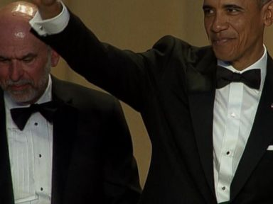 Watch:  Obama Skewers Presidential Candidates at White House Correspondents Dinner
