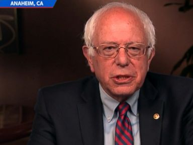 Watch:  Bernie Sanders Argues Hes Not Harming Democratic Party by Staying in the Race
