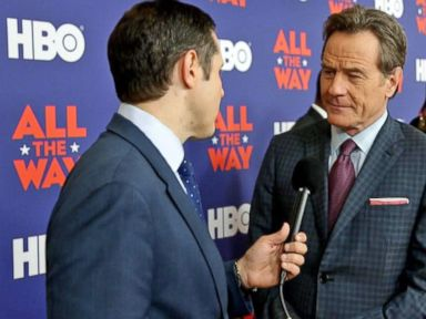 Watch:  Actor Bryan Cranston Imagines LBJs Reaction to Trump: What the Hell Is Goin On in Washington?