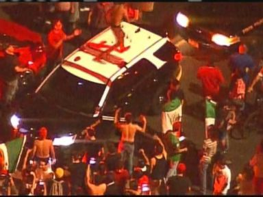 Watch:  Chaotic Scene Erupts Outside Trump Rally in New Mexico