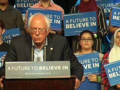 Watch:  Bernie Sanders Barnstorming California