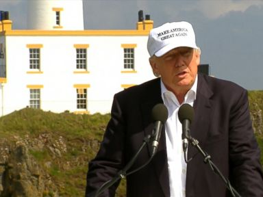 Watch:  Donald Trump Calls UK Vote to Leave EU Purely Historic