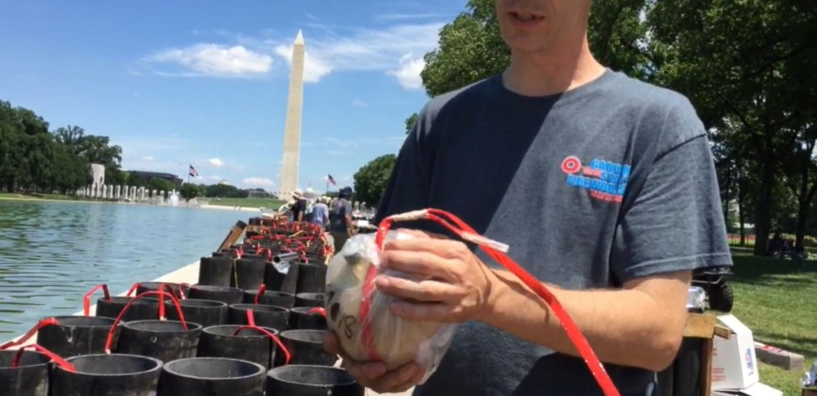 VIDEO: Preview of the Fourth of July Firework Display at the National Mall