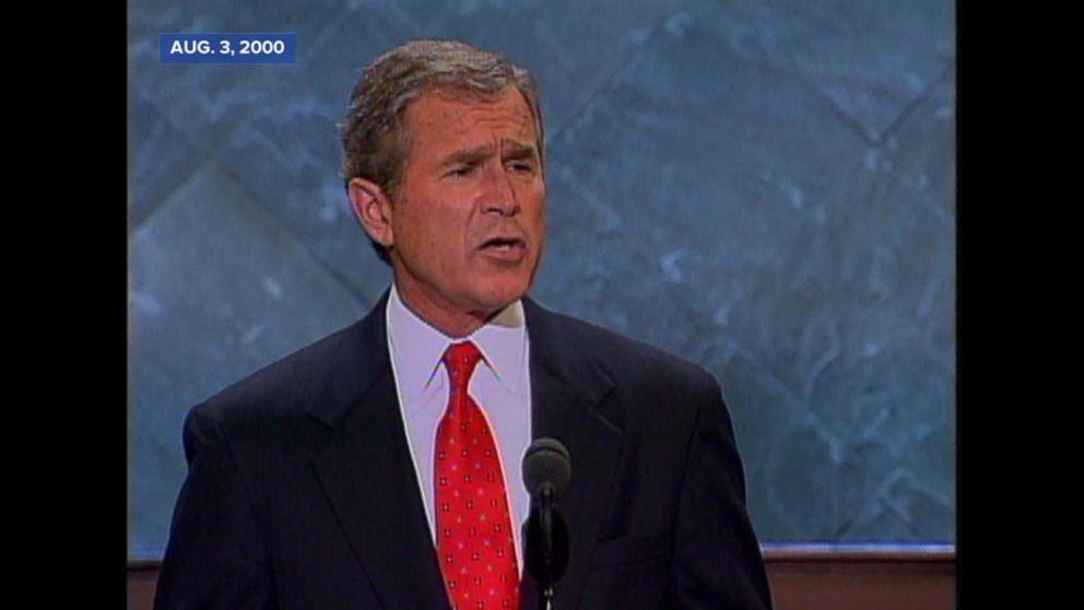 bush speech analysis Throughout his memorable 9/11 address to the nation speech, george w bush uses a few rhetorical devices to enhance the emotion and impact of his words, emphasizing the great tragedy of the 9/11 terrorist attacks, along with the resolve of our nation.