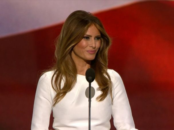 WATCH:  Melania Trump: 'Donald Wants Prosperity for All Americans'