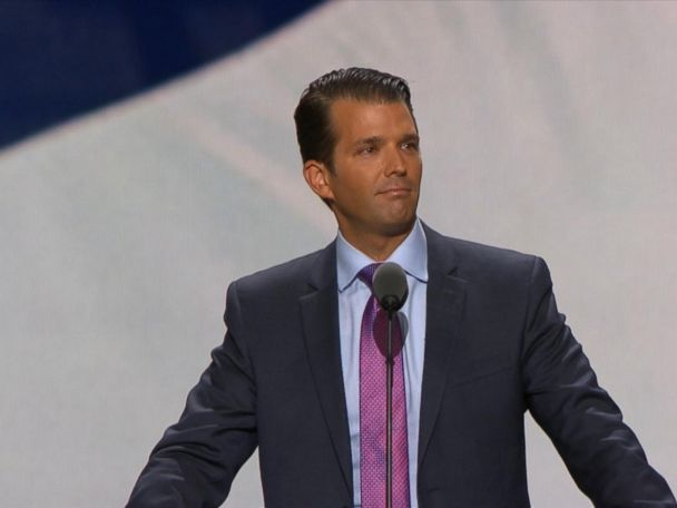 WATCH:  Donald Trump Jr: 'For My Father, Impossible Is Just the Starting Point'