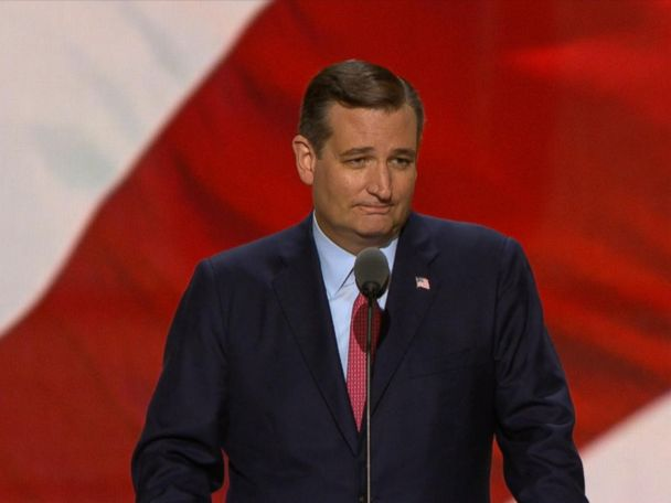 WATCH:  Ted Cruz: 'Vote Your Conscience'