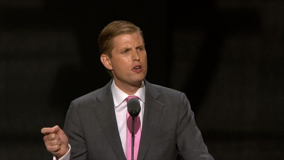 George Washington Bridge >> Eric Trump Highlights His Father's Passion for Helping Others in RNC Address Video - ABC News